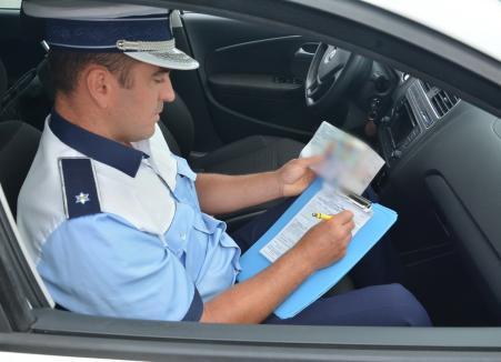 Bărbat din Bihor, prins fără permis şi băut la volan pentru a doua oară în an!