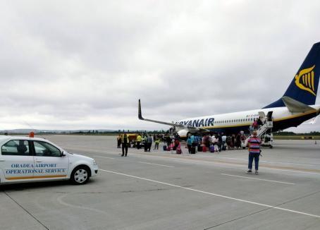 Zborurile de Oradea nu se regăsesc printre cele anulate în perioada următoare de Ryanair