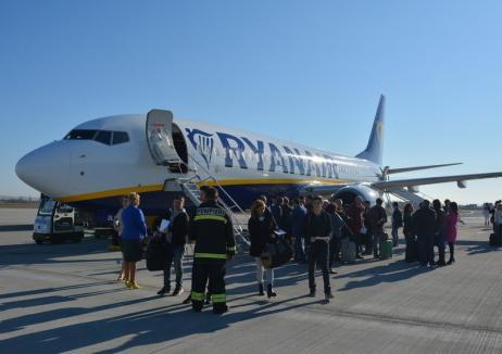 Cu ochii-n soare: Reacţie 'slabă' a Consiliului Judeţean după suspendarea curselor Ryanair de Londra