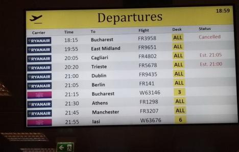 Vacanţă prelungită cu forţa: Zeci de români, blocaţi la Roma, după ce Ryanair a anulat o cursă