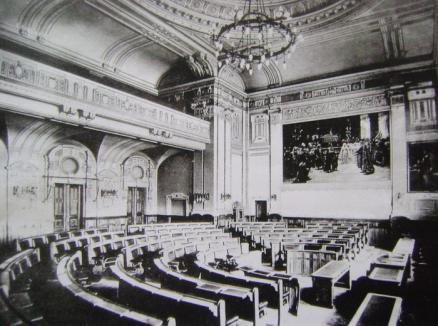 Deschis, pentru turism: Sala mare a Primăriei Oradea se va transforma în muzeu!