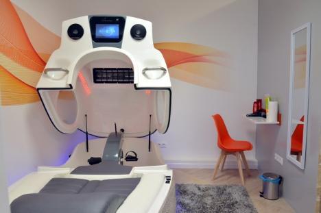 Modelare în capsulă: Infrashape Studio, un nou salon din Oradea, are cele mai noi şi moderne aparate pentru slăbire rapidă (FOTO)