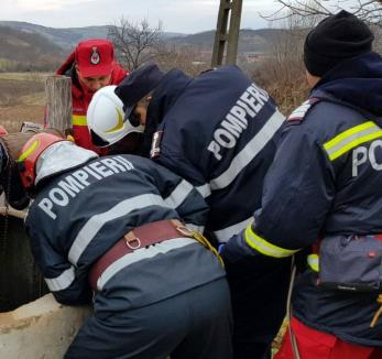 Noroc cu pompierii: Un bebeluş din Oradea a fost salvat din apartamentul în care s-a blocat, iar un bărbat a fost scos dintr-o fântână, în Sălacea