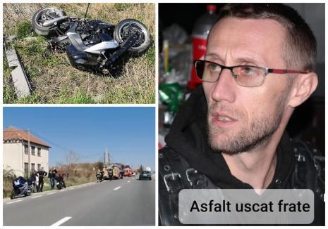 Ultima faptă bună. Un motociclist din Oradea a murit într-un grav accident produs la scurt timp după ce a dus pachete pentru nevoiași
