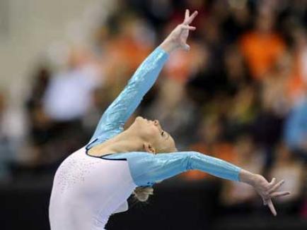 Două medalii de aur pentru gimnaştii români la Campionatele Europene