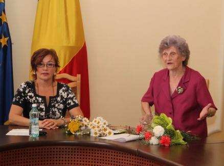 Mioriţa Săteanu a renunţat la funcţia de preşedinte al Uniunii Femeilor Bihor