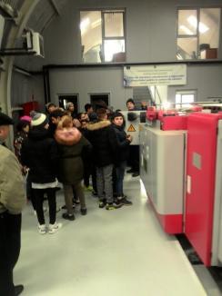 Şcoala Altfel, la OTL. Circa 100 de elevi au vizitat societatea de transport local (FOTO)
