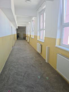 Şcoala Dacia din Oradea, reabilitată termic pe bani europeni(FOTO)