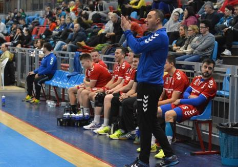 Sebastian Tudor revine. Este noul antrenor al echipei de handbal feminin CSU Oradea