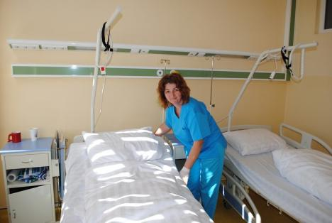 Încă două secţii de spital modernizate în Oradea: Chirurgia oncologică şi generală a Spitalului Municipal şi Urologia, revenită la Judeţean (FOTO)