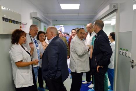 Dotare ultra pentru Urologia din Oradea: bloc operator la nivel Euro 2017, după o investiţie de peste 9,24 milioane lei (FOTO)
