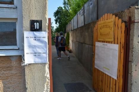 Fără incidente: 19,05% dintre bihoreni au fost la vot până la ora 16