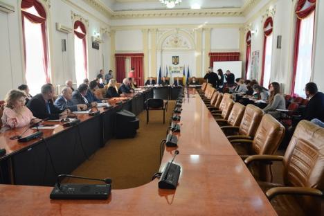 Războiul continuă: PNL-iştii au boicotat şedinţa ordinară a Consiliului Judeţean. Mang: 'Deja suntem penibili' (FOTO)