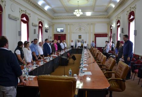 Întâlnire eşuată: Aleşii PNL au boicotat din nou o şedinţă a Consiliului Judeţean Bihor