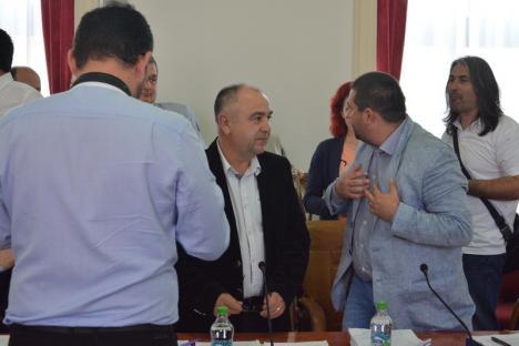 Șoc! Bugetul județului a trecut, liberalul Cornel Borza a votat... cu PSD-ul! (FOTO / VIDEO)