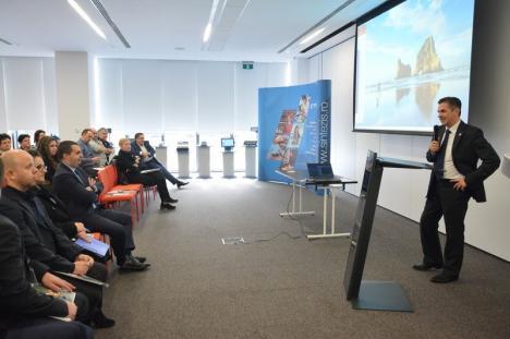 Informaţi şi premiaţi: Întreprinzătorii bihoreni au aflat 'de la sursă' cum trebuie să se doteze cu noile case de marcat (FOTO)