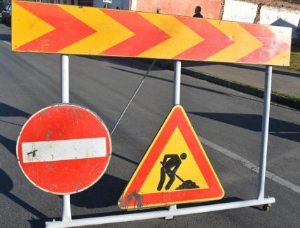 Lucrările la podul Centenarului închid circulaţia în zona clubului Constructorul