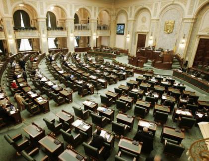 'Şomeri' de lux în Senat