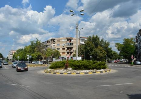 Sensul giratoriu de la intersecţia străzilor Calea Aradului şi Vlădeasa se desfiinţează parţial