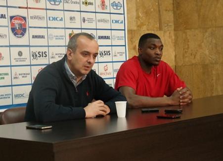 Baschetbalistul Zeno Martin: 'Am ales cea mai bună variantă venind la Oradea'!