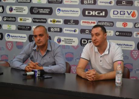 Nervos pe critici, preşedintele CSM Oradea, Şerban Sere, susţine că a încercat să găsească sponsori pentru echipa de handbal