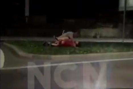 Sex a la Cluj: Doi tineri, filmaţi în timp ce făceau sex în sensul giratoriu (VIDEO)