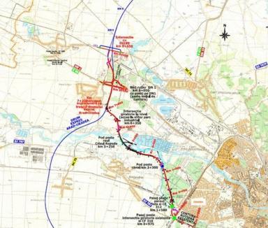 Zona Metropolitană comandă documentaţia pentru extinderea centurii Oradiei până la Autostradă