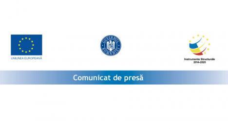Comunicat de presă începere proiect POC 2014-2020: Dotare cu tablete şcolare în comuna Nojorid