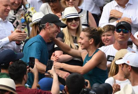 Simona Halep nu va mai fi antrenată de Darren Cahill: 'M-ai făcut o persoană mai bună'