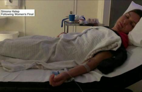 Simona Halep, la spital după finala Australian Open