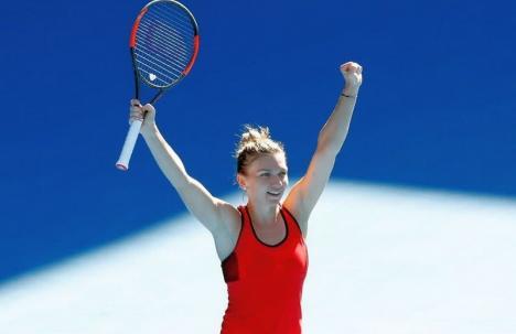 Simona Halep s-a calificat, pentru prima dată, în semifinalele Australian Open