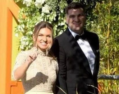 Simona Halep s-a căsătorit, miercuri, cu Toni Iuruc. Ce ţinută a purtat (FOTO)