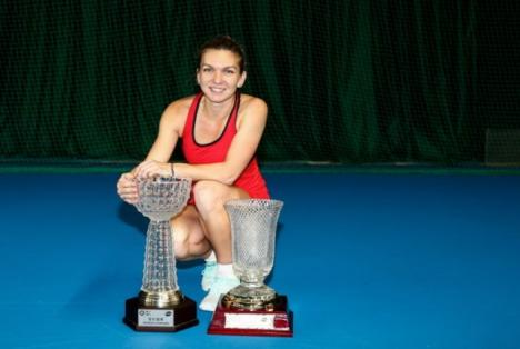 Simona Halep, dublă campioană la Shenzhen (FOTO)