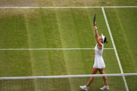 Simona Halep e în semifinale la Wimbledon!
