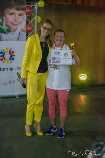 Simona Kadas s-a situat pe podium la un cros caritabil organizat de actriţa Monica Davidescu (FOTO)