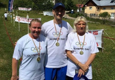 Simona Kadas s-a impus în crosul de la Şirnea, organizat cu ocazia Zilei Olimpice
