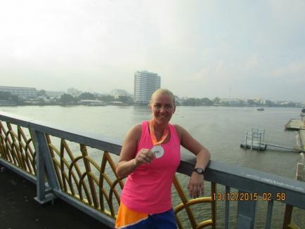 Orădeanca Simona Kadas a ocupat locul III la crosul dotat cu Cupa Regelui de la Bangkok