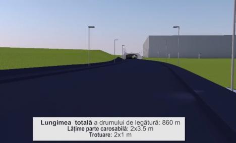 Construcţia noii şosele dintre Calea Aradului şi Ogorului ar putea costa 10,8 milioane lei. Cum va arăta (VIDEO)