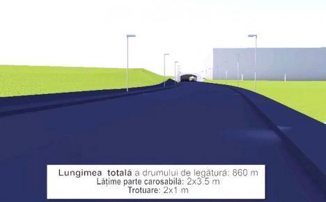 Construcţia drumului de legătură dintre Calea Aradului şi Piaţa 100 din Oradea va începe în iulie (FOTO / VIDEO)
