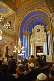 După 8 ani de lucrări: La final de Şabat, Sinagoga Ortodoxă a fost inaugurată (FOTO/VIDEO)