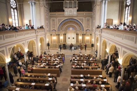 Zilele Culturii Iudaice, cu mâncăruri şi tradiţii evreieşti, la Sinagoga Zion. Sâmbătă se deschide şi Sinagoga Ortodoxă