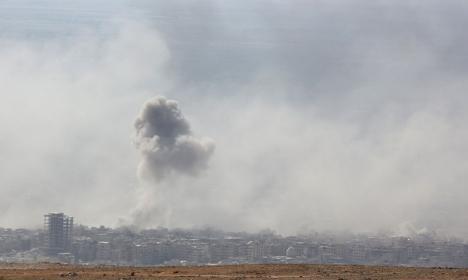Aeroport militar din Siria, lovit de rachete. SUA neagă orice implicare