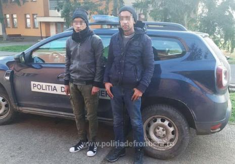 Doi tineri din Siria, solicitanţi de azil în România, au vrut să fugă ilegal din ţară prin Diosig