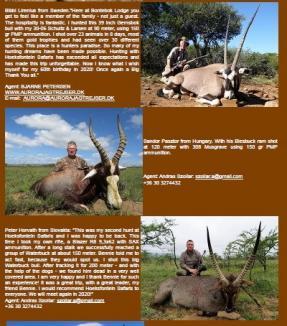 """De ce minţi, """"Sanyi Safari""""? Pásztor pretinde că a vânat doar o antilopă în Africa de Sud, dar BIHOREANUL are dovada că a omorât cel puţin două"""