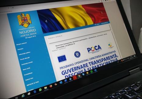 """Ca la ţară: Primăriile comunale din Bihor sunt """"paralele"""" cu internetul"""