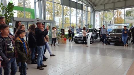 Sărbătoare la Autogrand Oradea: Fanii Skoda s-au reunit pentru a marca împreună Ziua Cehiei (FOTO)