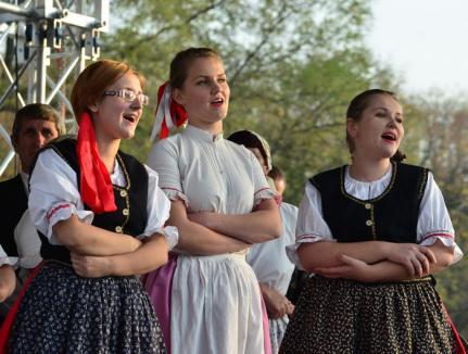 Cel mai mare festival al slovacilor din România, organizat din nou la Valea Cerului