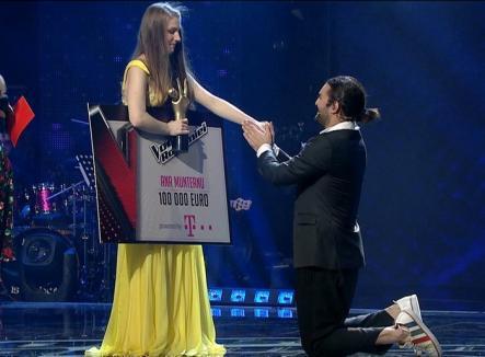 Concurenta lui Smiley, Ana Munteanu, a câştigat Vocea României (VIDEO)