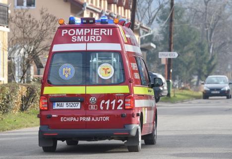 O fetiţă de 12 ani, salvată de la moarte de paramedicii din Oradea. Micuţa s-a intoxicat cu monoxid de carbon
