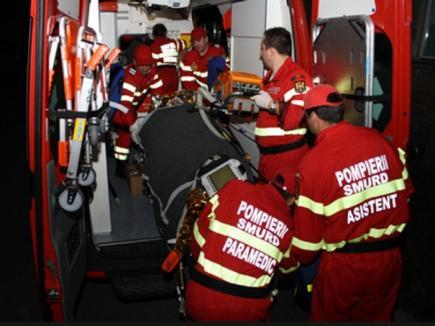 Soţia şefului Poliţiei Rutiere Sălaj a murit într-un accident la Sălard